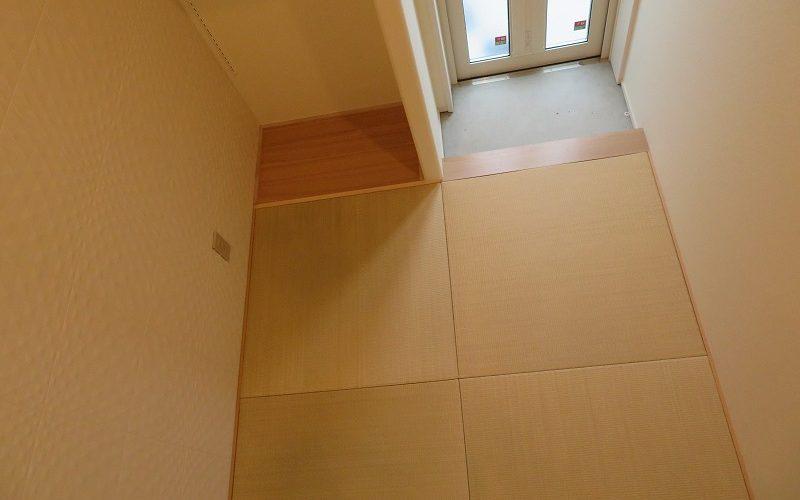 洗濯物スペース(プチ和室)