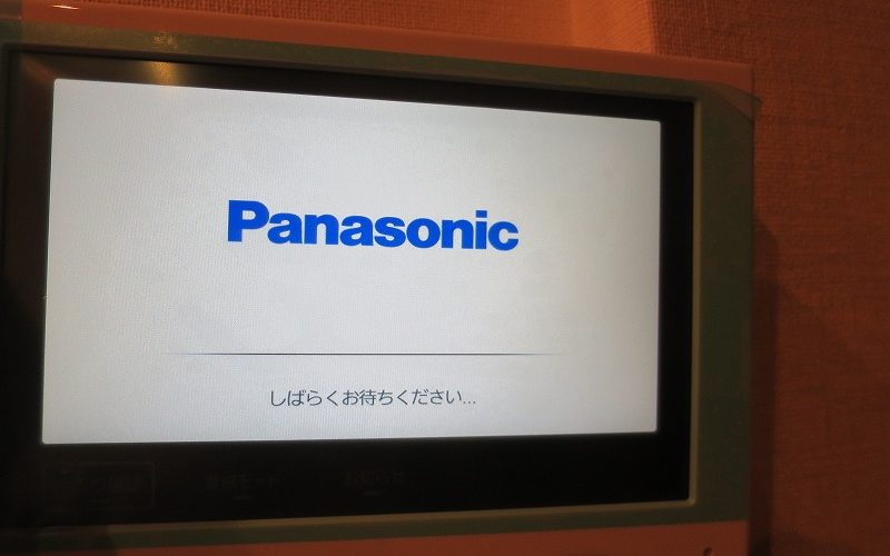Panasonic製ドアホンをアップグレードする