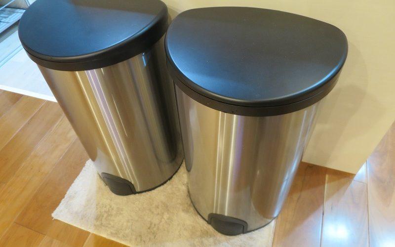 台所のゴミ箱は「自動開閉ゴミ箱」がオススメ