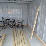 イナバガレージの改造に着手