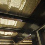イナバガレージの内天井カスタム(軽天材の設置1)