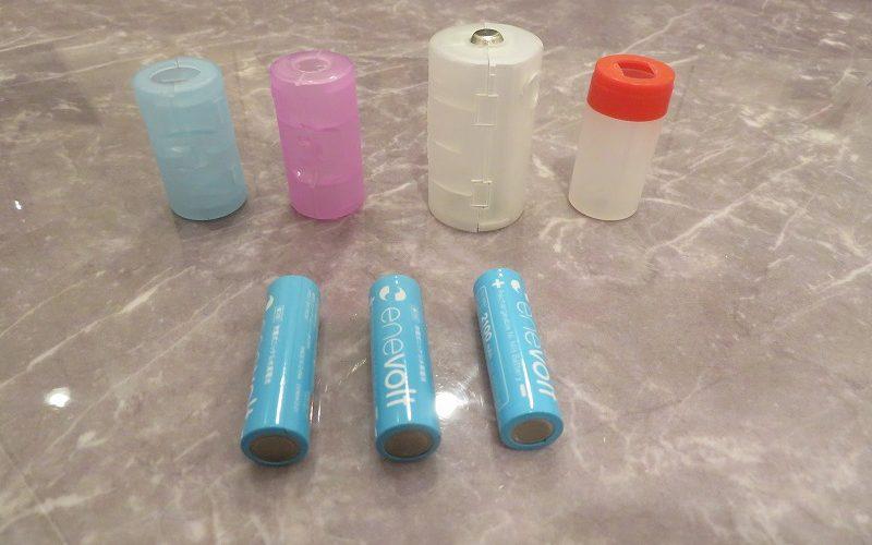 単3電池が生み出す単1・単2!電池アダプターを活用したエコライフ