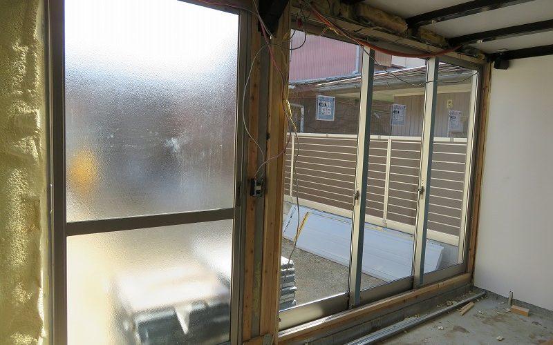 イナバガレージに掃出窓をつけたい! 片引戸との別れ