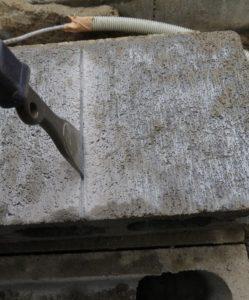 ブロックをぶった切るにはどうすりゃ良いのか