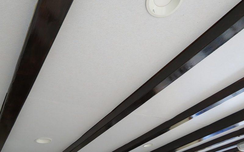 イナバガレージ内装のDIY【ジョイントコークで天井仕上げ】