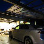 駐車場が暗い!カーポートに人感センサーライトを取り付ける【その1】
