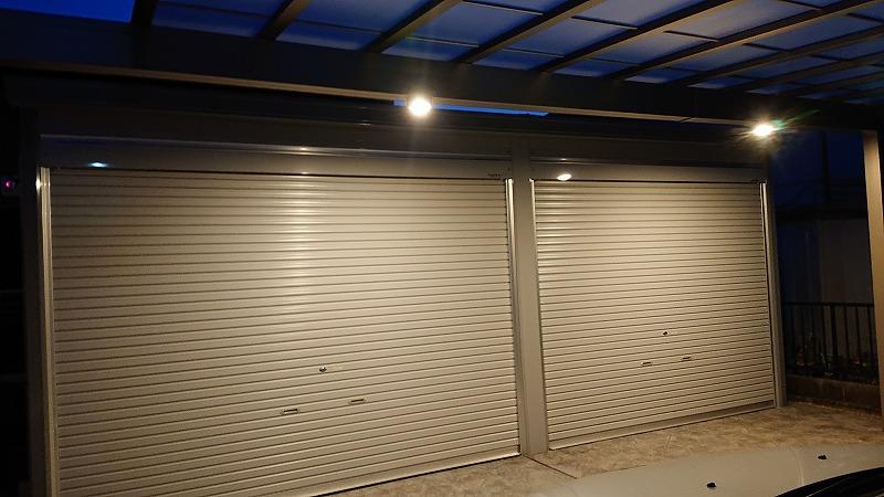 駐車場が暗い!カーポートに人感センサーライトを取り付ける【その2】