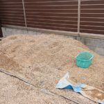砂利洗浄と防草シート施工【砂利を買って庭に敷きたい!】