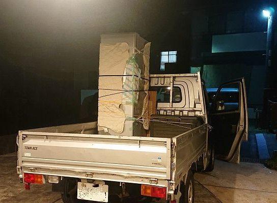 【冷蔵庫のお引っ越し】レンタカーで大型冷蔵庫を運搬する